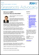 JDRF Grassroots Advocacy Newsletter - May 2012