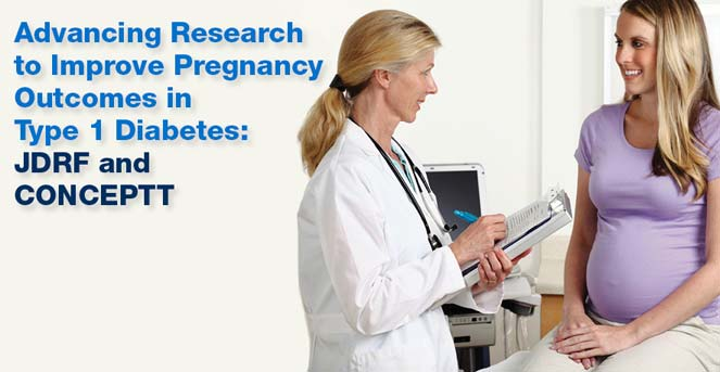 Advancing Research to Improve Pregnancy Outcomes in T1D: JDRF and CONCEPTT