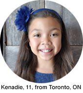 Kenadie 11 from Toronto